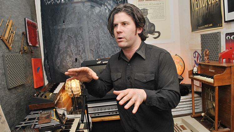 Ed Harcourt, RFB, Back In To The Woods, CCCLX, Cadogan House, Heavenly, EMI, Here Be Monsters, Lustre