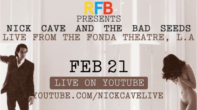 Nick Cave and The Bad Seeds Essential Guide Live Stream